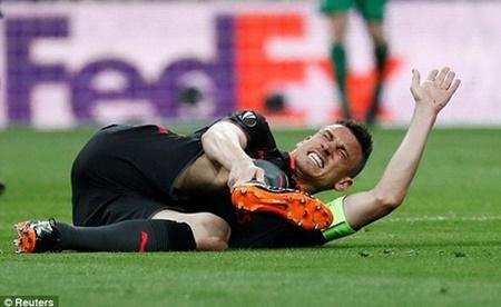 """Atletico Madrid 1-0 Arsenal: """"Pháo thủ"""" dừng bước tại Bán kết Europa League - Ảnh 1"""