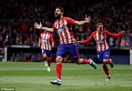 """Atletico Madrid 1-0 Arsenal: """"Pháo thủ"""" dừng bước tại Bán kết Europa League - Ảnh 2"""