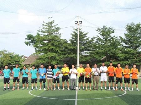 Báo Đời sống và Pháp luật tại miền Trung vô địch Cup Việt Nam Xanh - Ảnh 1