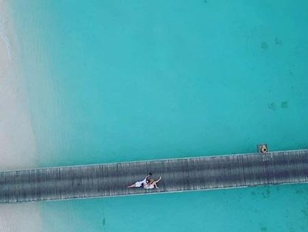 Cường Đô la và Đàm Thu Trang chụp ảnh cưới ở Maldives? - Ảnh 2