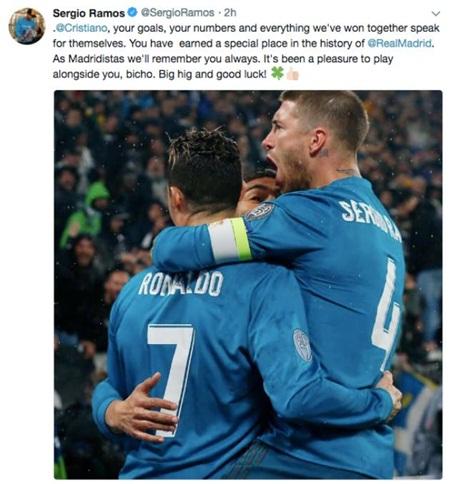 Đồng đội Real gửi lời chia tay Ronaldo: Tự hào vì từng sát cánh với một huyền thoại! - Ảnh 3