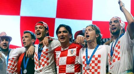 Thua trận, ĐT Croatia vẫn được chào đón như người hùng tại quê nhà - Ảnh 9