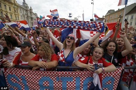Thua trận, ĐT Croatia vẫn được chào đón như người hùng tại quê nhà - Ảnh 7