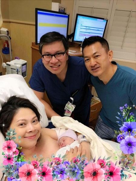 Ca sĩ Thanh Thảo đã hạ sinh con gái đầu lòng ở tuổi 41 - Ảnh 1