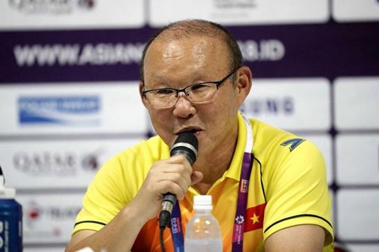 HLV Park Hang Seo phấn khởi vì Olympic Việt Nam đoạt vé vào vòng 1/8 ASIAD - Ảnh 2