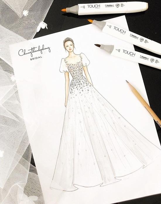 Đây chính là váy cưới Nhã Phương sẽ mặc trong đám cưới với Trường Giang? - Ảnh 2