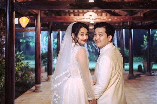 Đây chính là váy cưới Nhã Phương sẽ mặc trong đám cưới với Trường Giang? - Ảnh 1