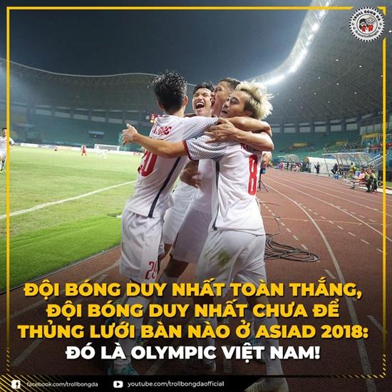 """Ảnh chế Olympic Việt Nam: """"Bức tường"""" Tiến Dũng và """"cầu thủ cao tuổi nhất"""" Văn Toàn - Ảnh 2"""