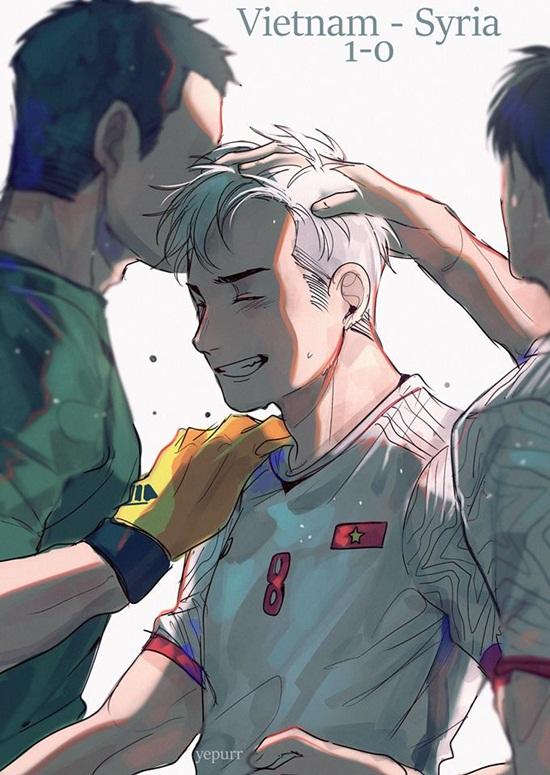 """Ảnh chế Olympic Việt Nam: """"Bức tường"""" Tiến Dũng và """"cầu thủ cao tuổi nhất"""" Văn Toàn - Ảnh 10"""