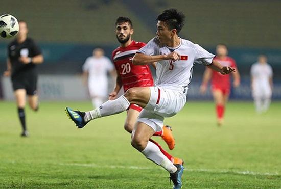 Báo chí Syria gọi Olympic Việt Nam bằng danh xưng bất ngờ sau trận tứ kết ASIAD 18 - Ảnh 1