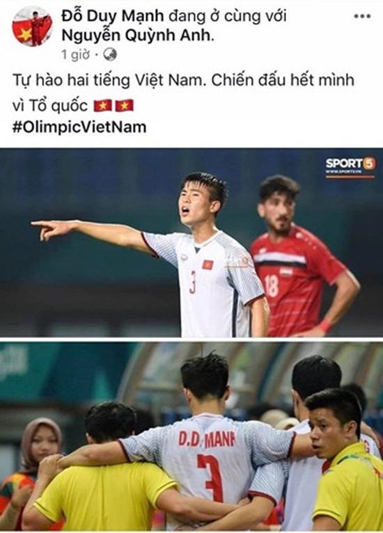 Dàn cầu thủ Olympic Việt Nam nói về chiến thắng lịch sử tại ASIAD - Ảnh 4