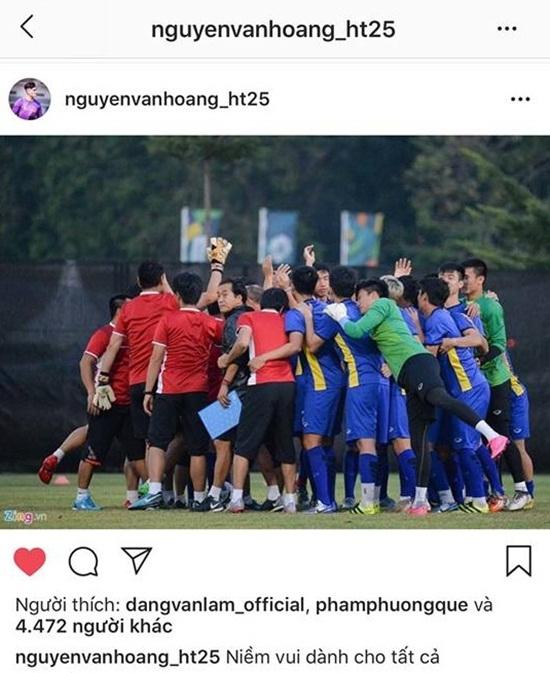 Dàn cầu thủ Olympic Việt Nam nói về chiến thắng lịch sử tại ASIAD - Ảnh 7