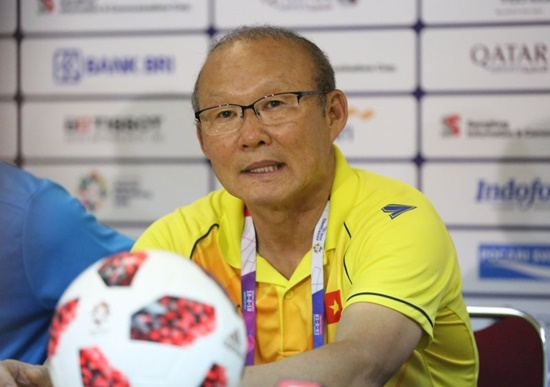 HLV Park Hang Seo: Thất bại hôm nay để Olympic Việt Nam trưởng thành trong tương lai - Ảnh 1