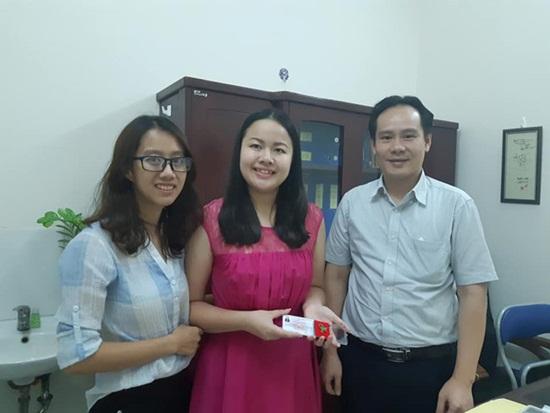 Nữ MC khiếm thị đầu tiên của VTV đăng ký hiến tạng - Ảnh 1