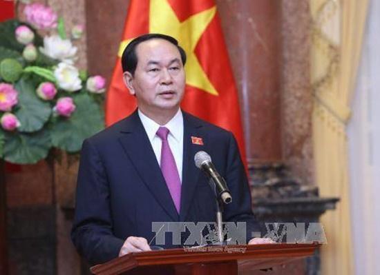 Chủ tịch nước Trần Đại Quang làm hết sức mình phục vụ Tổ quốc, phục vụ nhân dân - Ảnh 1