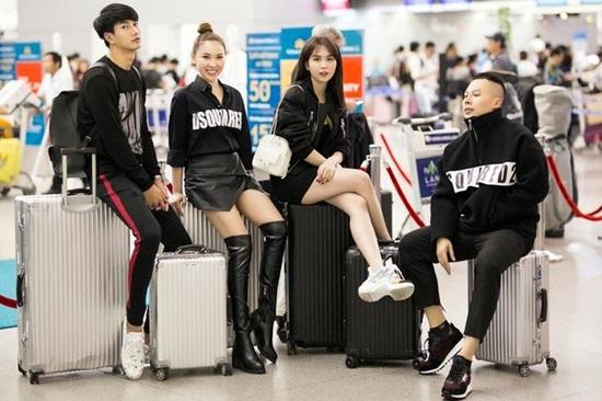 Ngọc Trinh diện váy bó sát khoe trọn đường cong tại sân bay - Ảnh 5