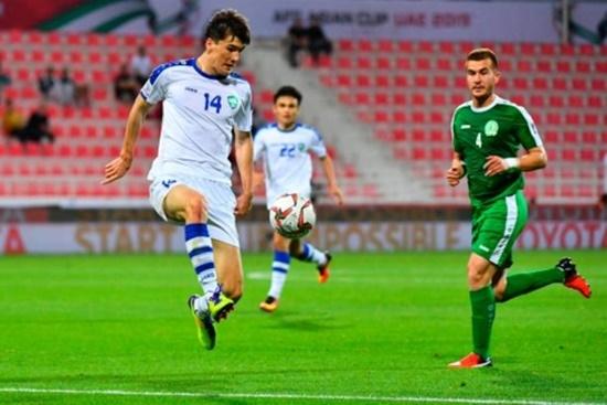 """Kết quả Asian Cup 2019: Uzbekistan """"vùi dập"""" Turkmenistan, giành vé đi tiếp - Ảnh 1"""