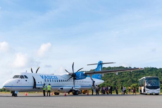 Bão số 1: Đổi 10 chuyến bay tới Côn Đảo, các phương tiện neo đậu tránh bão - Ảnh 1