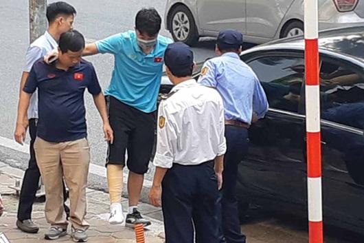 Xuân Trường chia tay tuyển Việt Nam vì chấn thương nghiêm trọng, nghỉ thi đấu 9 tháng - Ảnh 1
