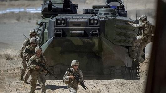 Mỹ tăng cường 3.000 quân cùng máy bay chiến đấu đến Saudi Arabia - Ảnh 1