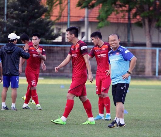 HLV Park Hang-seo: Indonesia là đội mạnh, nhưng chúng tôi đã sẵn sàng chiến thắng - Ảnh 1