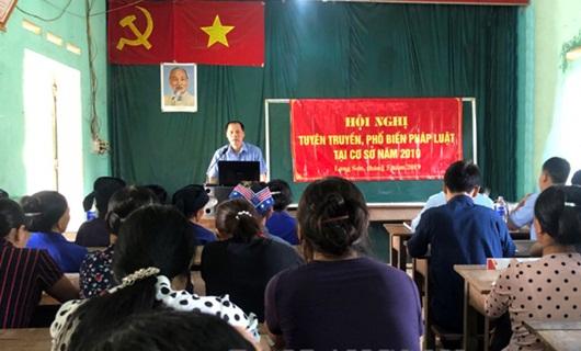 Hội Luật gia huyện Bình Gia (Lạng Sơn): Điểm sáng tuyên truyền pháp luật    - Ảnh 1