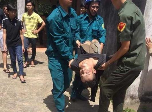 Bắt nam thanh niên nghi ngáo đá, sát hại cụ ông 84 tuổi - Ảnh 1