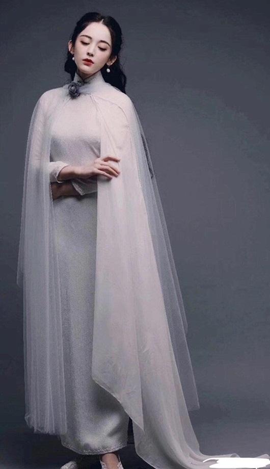 Cổ Lực Na Trát đẹp như tiên nữ với tạo hình thời dân quốc nhưng fan lại lo về diễn xuất - Ảnh 1