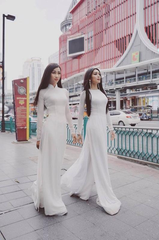 """BB Trần - Hải Triều và những lần diện áo dài đẹp lộng lẫy khiến chị em """"phát hờn"""" - Ảnh 2"""