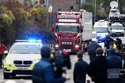 Vụ 39 thi thể trong container ở Anh: Bắt giữ thêm 2 nghi phạm - Ảnh 1