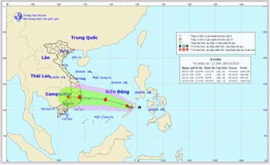 Cảnh báo đối phó áp thấp nhiệt đới có khả năng mạnh thành bão ở Biển Đông - Ảnh 1