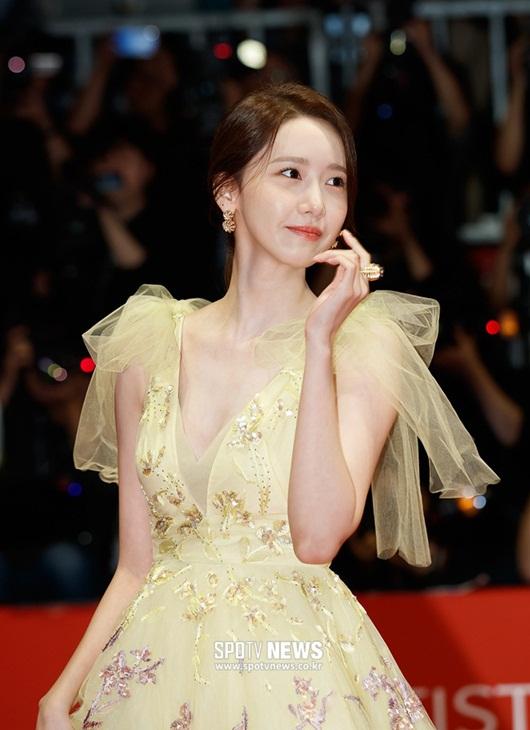 """Nhan sắc cực phẩm khiến """"nữ thần"""" Yoona chiếm spotlight thảm đỏ LHP Busan - Ảnh 5"""