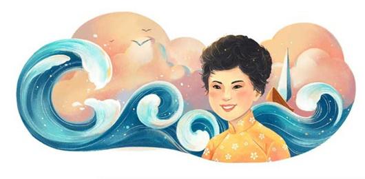 Cố nữ sĩ Xuân Quỳnh được Google vinh danh nhân ngày sinh nhật - Ảnh 1