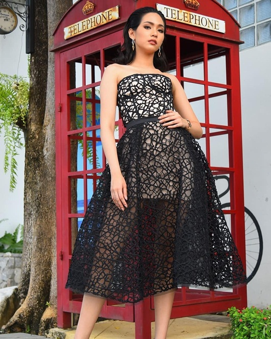 Nhan sắc ngọt ngào và đường cong mê người của tân Hoa hậu Quốc tế người Thái Lan - Ảnh 9