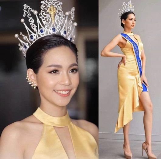 Nhan sắc ngọt ngào và đường cong mê người của tân Hoa hậu Quốc tế người Thái Lan - Ảnh 2