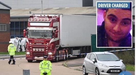 Vụ 39 người tử vong trong container ở Anh: Có thể dẫn độ nghi phạm ở Ireland - Ảnh 1