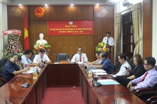 Chi hội Luật gia văn phòng đoàn ĐBQH và văn phòng HĐND tỉnh Cà Mau hoạt động tích cực hiệu quả - Ảnh 1