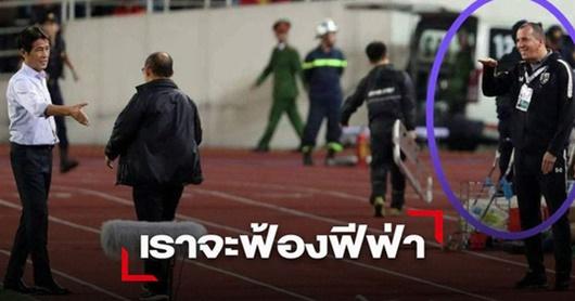 Trợ lý HLV Thái Lan bị tố khiếm nhã với thầy Park không bị sa thải - Ảnh 1