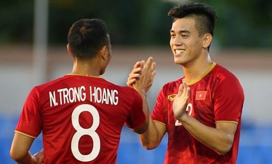 U22 Việt Nam lại thắng tưng bừng, giữ vững ngôi đầu bảng B - Ảnh 1