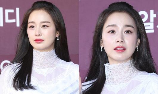 Nhan sắc nữ thần của Kim Tae Hee trong lần đầu xuất hiện sau khi sinh con thứ 2 - Ảnh 6