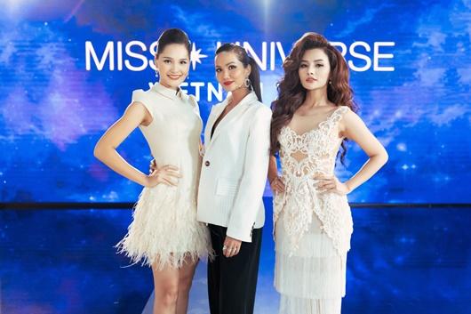 Bộ ba giám khảo của tập 9 Tôi là Hoa hậu Hoàn vũ Việt Nam 2019.