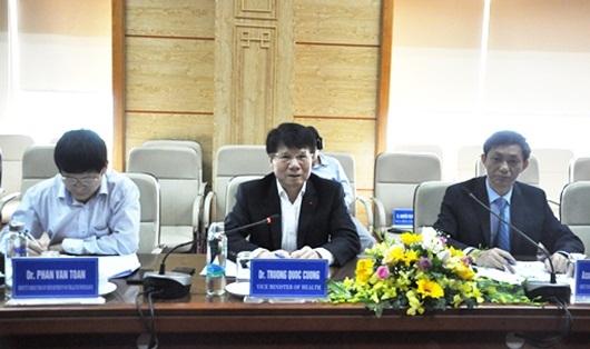 Thứ trưởng Trương Quốc Cường làm việc với Phó Giám đốc Cơ quan Phát triển quốc tế Hoa Kỳ - Ảnh 1