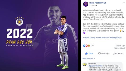 """Hà Nội FC """"trói chân"""" thành công học trò thầy Park bằng bản hợp đồng 3 năm - Ảnh 1"""