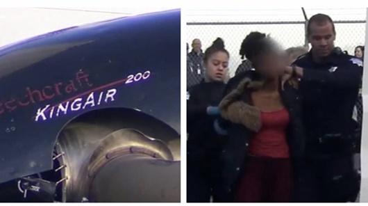 Thiếu nữ 17 tuổi đánh cắp máy bay 2 triệu đô rồi đâm vào rào chắn - Ảnh 1
