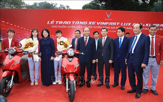 Thủ tướng Nguyễn Xuân Phúc: Thể thao mang lại niềm tự hào cho đất nước - Ảnh 7