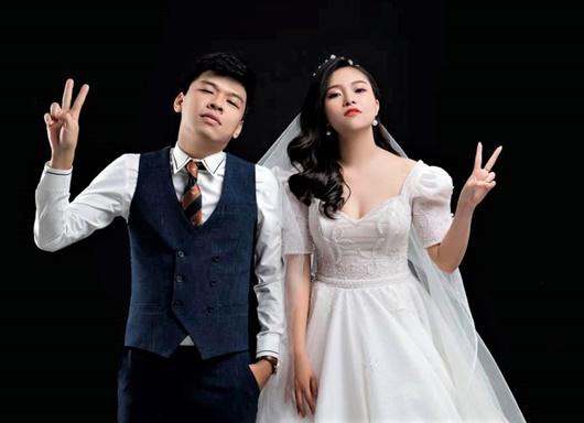 Diễn viên hài Trung Ruồi làm đám cưới sau 3 năm hẹn hò - Ảnh 3