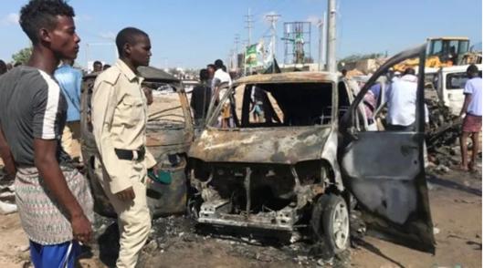 Ít nhất 76 người thiệt mạng trong vụ đánh bom xe ở Somalia - Ảnh 1