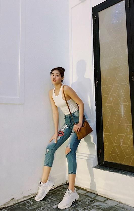 Ảnh đời thường từ dễ thương đến nóng bỏng hút mắt của tân Hoa hậu Hoàn vũ Khánh Vân - Ảnh 7