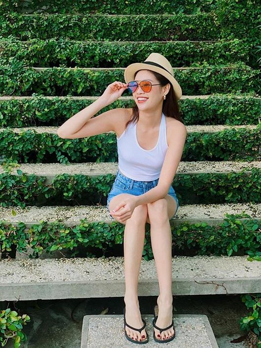 Ảnh đời thường từ dễ thương đến nóng bỏng hút mắt của tân Hoa hậu Hoàn vũ Khánh Vân - Ảnh 5