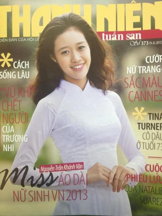 """Ảnh hiếm thời đi học của tân Hoa hậu Hoàn vũ Khánh Vân """"đốn tim"""" người hâm mộ - Ảnh 7"""